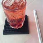 神戸ステーキハウス - グレナデンソーダはざくろのソーダ