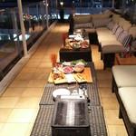 ビービ-エイト - 1609 ビービーエイト BBQプラン@5,000円 テラス席③