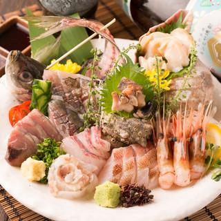 【限定10食】豊洲直送!!鮮魚の特盛り500円!!