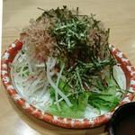 そらまち亭 - シャキシャキ大根サラダ ¥500(540)