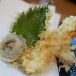 そば廣 - 天ぷらうどんの天ぷら