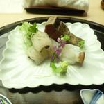 懐石料理 桝田 - お造り(蛸、鱧、鰹)