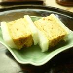 懐石料理 桝田 - 卵サンド