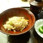 懐石料理 桝田 - 松茸ご飯