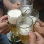 55746869 - 生ビールで乾杯