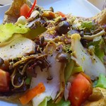 鏡池どんぐりハウス - 秋限定 信州黄金シャモ鶏と信州産キノコのガレット