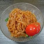 晴山閣 - ミニ酢クラゲ