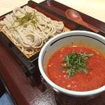 万葉そば -      9/5  冷やしトマトつけ蕎麦