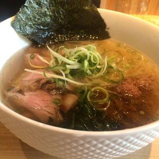 姫路麺哲 - 料理写真:塩ラーメンをいただきました