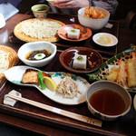 古窯庵 - 天麩羅そば膳(2,160円)