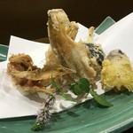 割鮮 のむら - 料理写真:天ぷら ハタハタの天ぷらうまい