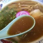 丸三 - 平成28年8月23日中華そばスープ