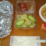 ニューカリーハウス - 料理写真:シーフードカレーセット