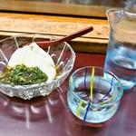 寿司まるでん - 料理写真:山形のだし & お酒