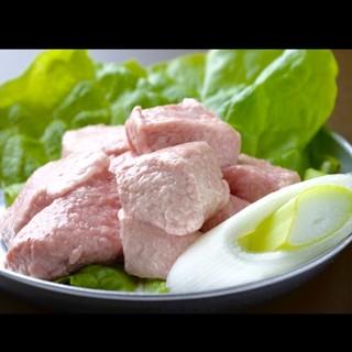 希少部位!豚のおっぱい&コラーゲンとゼラチンが豊富のコウネ!