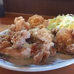 櫻 - 料理写真:160827 唐揚げ定食
