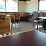 コーヒーショップ息吹樹 - 店内。