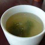 コーヒーショップ息吹樹 - スープ。あっぷ。