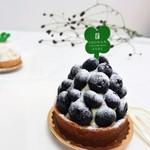 フランス菓子 葦 - ブルーベリータルト
