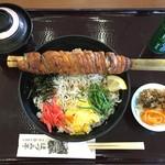 55758759 - 太刀魚ちりめん丼 汁もの・漬物付 1050円(税込)