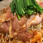 鮮魚個室居酒屋 利休 - 鶏ちゃん焼き