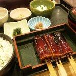 鈴の屋 - 菜めし田楽定食ミニ