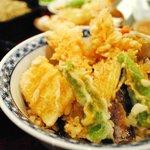 つる亀庵 - 美味しい~ 天丼1200円