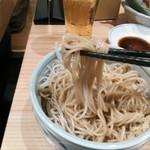 魚河岸酒場 魚楽 - たぬきそばの麺