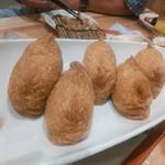 魚河岸酒場 魚楽 - 稲荷寿司