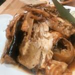 魚河岸酒場 魚楽 - 一番お気に入りのあら炊き