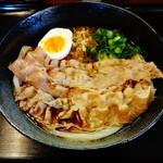 麺工房 えい和 - 料理写真:肉ぶっかけうどん大600円(税込)
