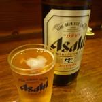 海の幸 山の幸 三平 - 瓶ビール