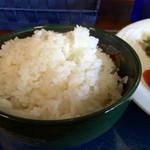 ダイニング クム - ご飯大盛り