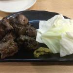 鳥金 - 地鶏もも炭火焼き (小皿)