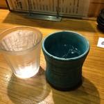 龍のおとし子 - 残波白!  お水たくさん摂る(。-_-。)