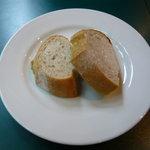 タベルナ クラゲ - ランチのパン