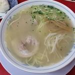 南京ラーメン 黒門 - ラーメン+おにぎり1個
