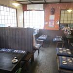 きたこま - 昔風な蕎麦屋さん内装