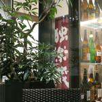 恵比寿 箸庵 - テラスから見た独楽蔵