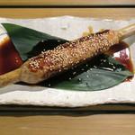 恵比寿 箸庵 - 山形蔵王産鴨つくね焼き