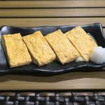 恵比寿 箸庵 - モッツァレラ入り卵焼き
