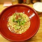 金蠍 - 汁なし金胡麻担担麺¥780