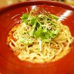 金蠍 - 汁なし金胡麻担担麺:2辛