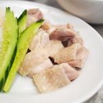 マンゴツリーキッチン カオマンガイ - カオマンガイセット(泰鶏飯定食)の鶏