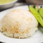 マンゴツリーキッチン カオマンガイ - カオマンガイセット(泰鶏飯定食)のジャスミンライス