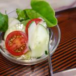 あんくる - 定食のサラダ