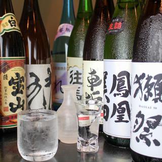 【全国の人気銘柄勢揃い!!】厳選した日本酒もお楽しみください