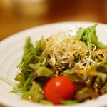 VEGE CHINA 南国酒家 - 中華セットのサラダ ドレッシングも美味しい