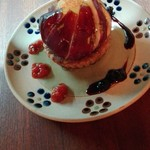野菜とつぶつぶ アプサラカフェ - いちじくタルト