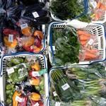 野菜とつぶつぶ アプサラカフェ - 地元の農協直販所スマイル阪神で野菜を仕入れ